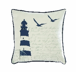 Lawrence Lighthouse Pillow