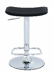 Madyson Chrome Adjustable Bar Stool