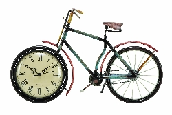 Zoya Bicycle Table Top Clock