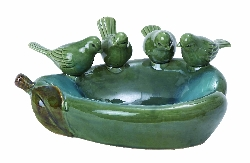 Nasir Pear Ceramic Bird Basin