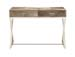 O'Connor Steel Leather Console Table