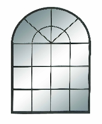 Philip French Metal Wall Mirror