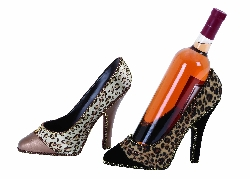 Malek Shoes Wine Holder Set 2