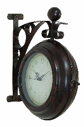 Nola 2 Sided Wall Clock