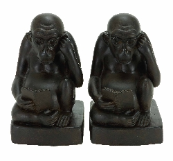 Drew Monkey Bookend Set