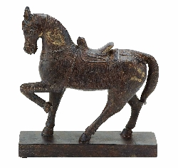 Ariya Tall Galloping Horse Statue