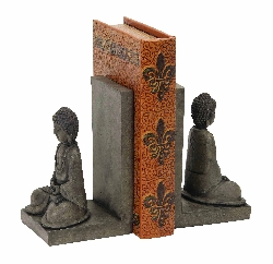 Angelica Library Buddha Bookend Set