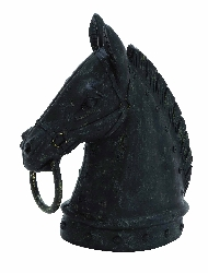 Remy Horse Head With Mouth Ring