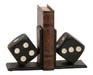 Rossignol Dice Bookend Set