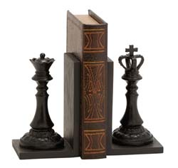 Sherbrooke Chess Bookend Set