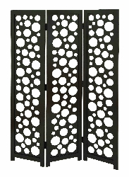 Natasha 3 Panel Circles Room Divider