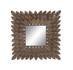 Nerina Gem Metal Wall Mirror