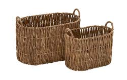 Eboshi Seagrass Basket Set/2