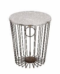 Kornidzor Metal Wire Stool