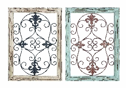 Jazmin Architectural Wall Panel Set 2 16x22