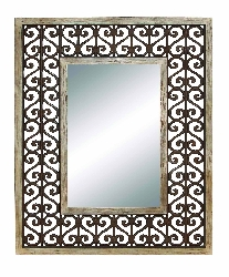 Anais Rectangle Wall Mirror