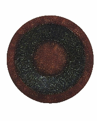 "Veer Hammered 36"" Round Wall Medallion"