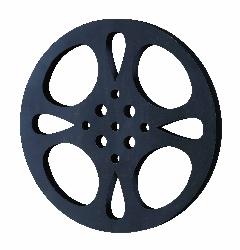 Lailah Wall Movie Reel Black-Gray