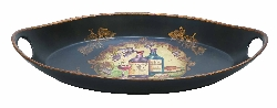 Samarth Wine Theme Ceramic Platter