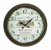 Chateau Grand Bordeaux 1971 Wall Clock