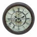 Chateau Laurent Round Wall Clock