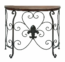 Tabitha Wood & Console Table