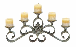 "Inaya 5 Candle 23"" Candle Holder"