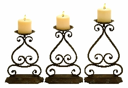 Ephraim Candle Holder Set 3