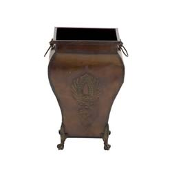 Saskatchewan Metal Footed Urn