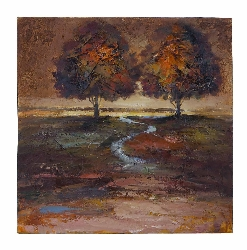 Audriana Autumn Day Wall Painting