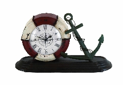 Coby Nautical Table Clock