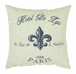 "Omer Hotel De Lys 16"" Plush Pillow"