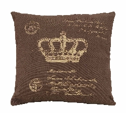Sulaiman Postcard Brown Plush Pillow