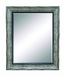 Kal-el Grey & Black Wall Mirror
