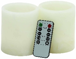Daphne Flameless Candle & Remote Set