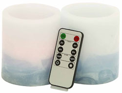 Dauphin Flameless Candle & Remote Set