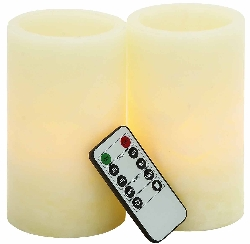 Daviston Flameless Candle & Remote Set