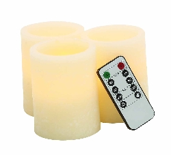 Lisman Flameless Candle & Remote Set