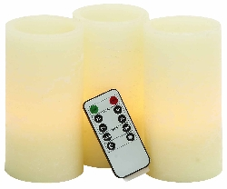 Littleville Flameless Candle & Remote Set
