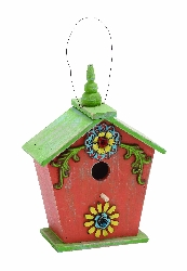 Sana Wood Birdhouse