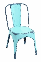 Hailie Retro Blue Chair