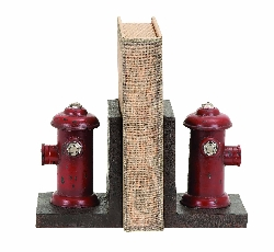 Kirk Vintage Fire Hydrant Bookend Set