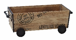 Lentilles Wood & Cart
