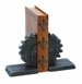 Betsy Gears Bookend Set