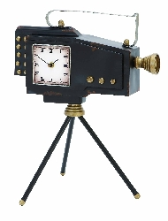 Moira Old World Camera Clock
