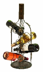 Presley 4 Bottle Wine Rack