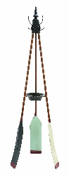 Caelan Rowing Oar Coat Rack