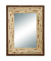 Ila Rustic Frame Glass Mirror