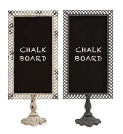 Leesa Metal Blackboard Set/2
