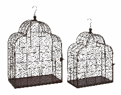 Sklaer Metal Wire Bird Cage